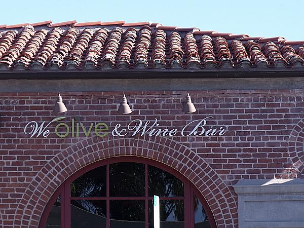 We Olive & Wine Bar - San Juan Capistrano, California
