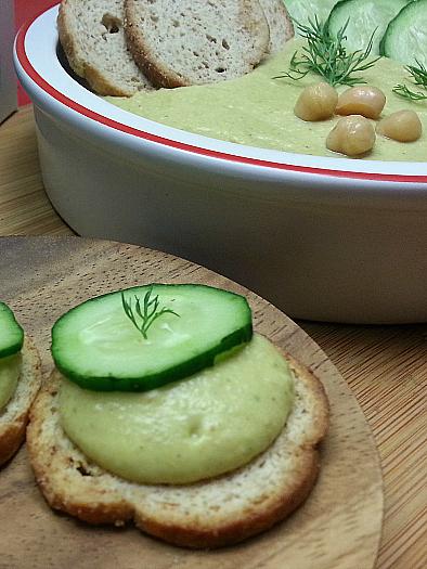 Lemon Dill Hummus Recipe