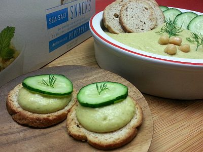 Lemon Dill Hummus