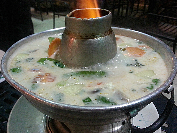 Tom Kha Soup - Elephant Thai Cuisine - Riverside, California