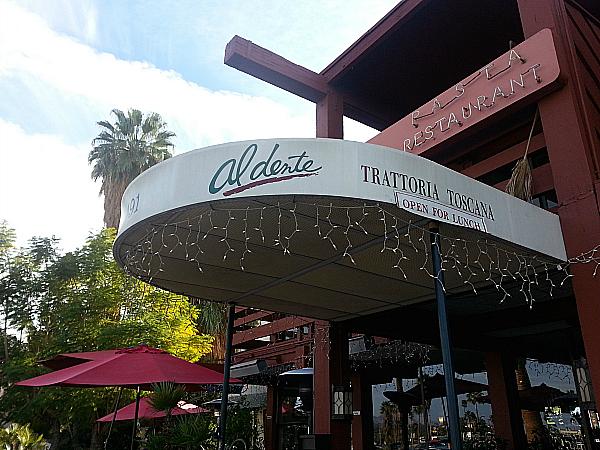Al Dente Restaurant - Palm Springs, California