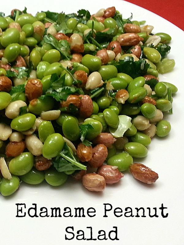 Edamame Peanut Salad