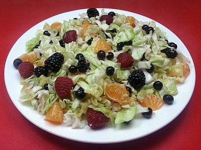 Fresh Fruit Slaw Salad