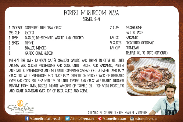 Vegetarian mushroom pizza mama likes to cook click here to download the pdf recipe card to print or save to your computer forumfinder Images