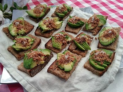 Avocado Themed Lunch with Chef Pink