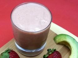 Strawberry Avocado Smoothie