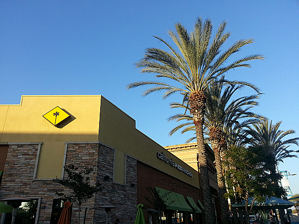 The Garden Walk Anaheim Ca: California Pizza Kitchen - Anaheim, California