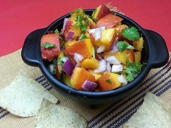 Simple & Delicious Peach Salsa