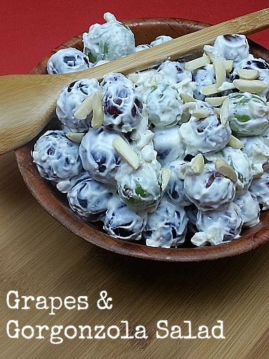 Grapes and Gorgonzola Salad