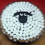 Shaun The Sheep No-bake Chocolate Pudding Pie
