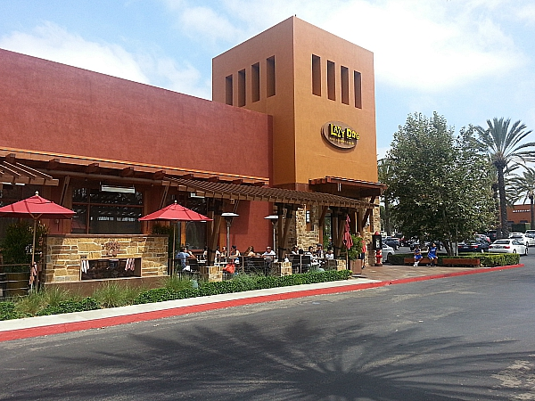 Weekend Brunch at Lazy Dog - Irvine, California