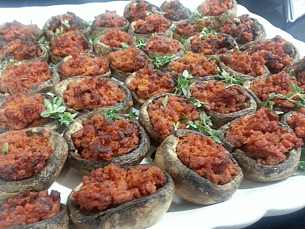 In a French Kitchen: Mushrooms with Chorizo