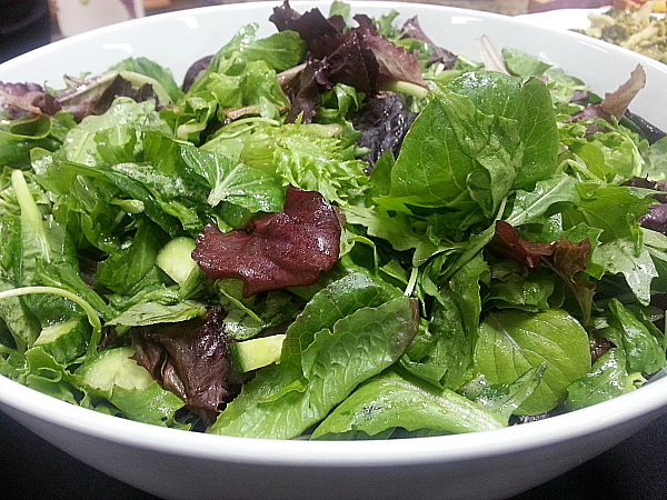 In a French Kitchen: Garden Salad with Classic Vinaigrette