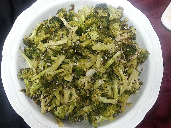 In a French Kitchen: Braised Broccoli