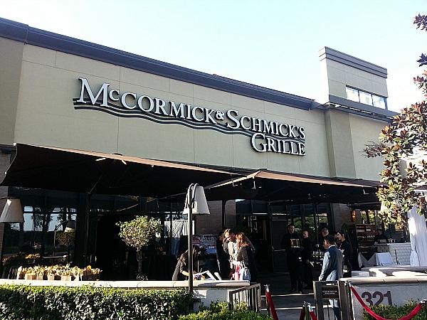 Restaurants In Garden Walk Anaheim: McCormick & Schmick's - Anaheim, California