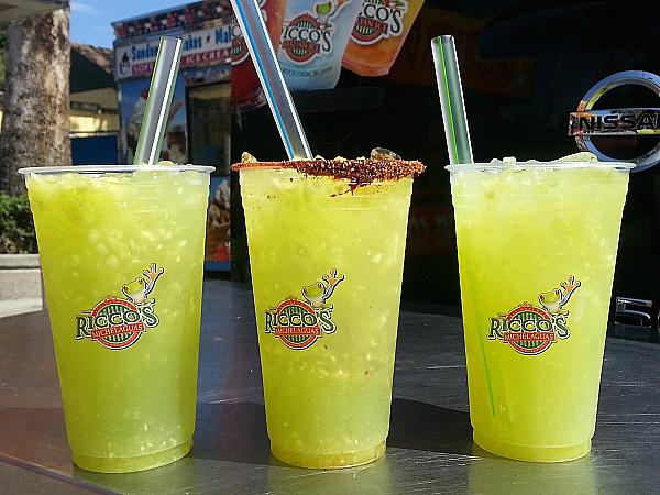 Los Angeles County Fair Food - Aguas Frescas