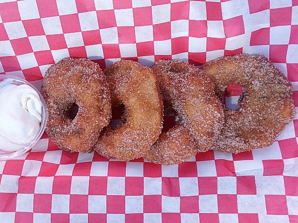 Los Angeles County Fair Food - Apple Rings
