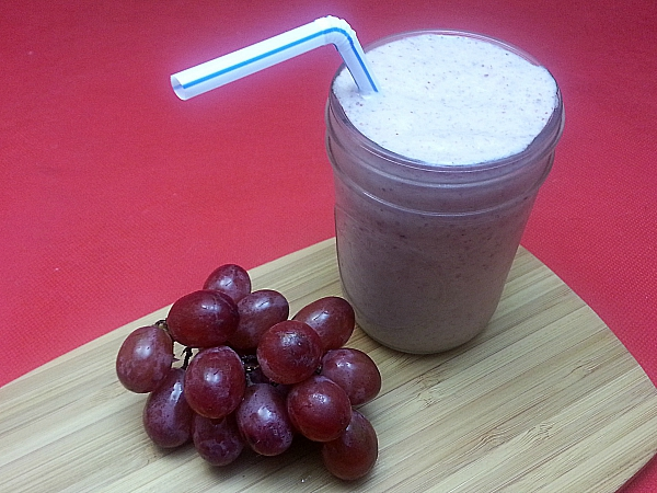 Red Grape and Chia Smoothie