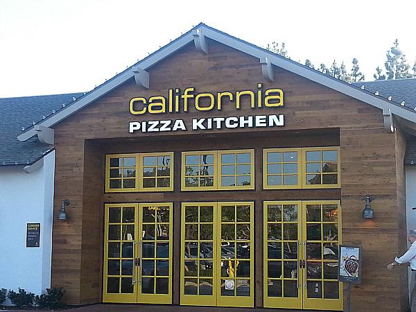 Delightful California Pizza Kitchen   Alton Square   Irvine