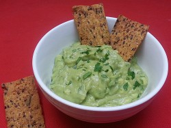 Vegan Avocado Yogurt Dip
