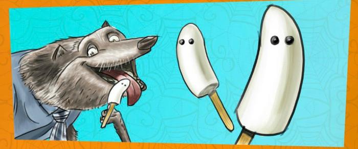 Halloween Boo-Nana Banana Pops Recipe