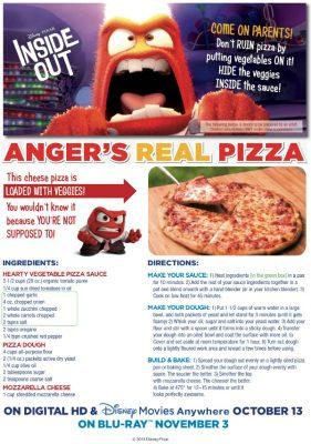 Disney Hidden Veggies Pizza