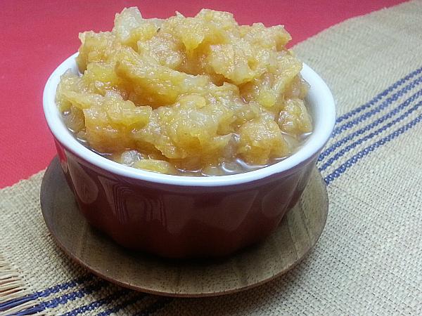 Slow Cooker Persimmon Applesauce