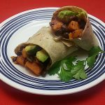 Vegan Sweet Potato Black Bean Burrito Recipe