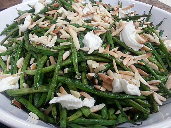 Whitney Miller's New Southern Table Cookbook - Green Beans & Mushroom Saute