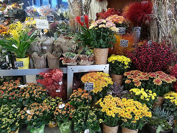 Fresh Flowers at Bristol Farms - Los Angeles, California