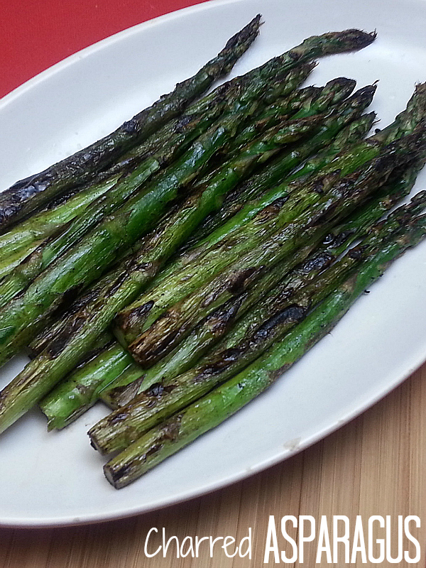Charred Asparagus with Lemon Recipe