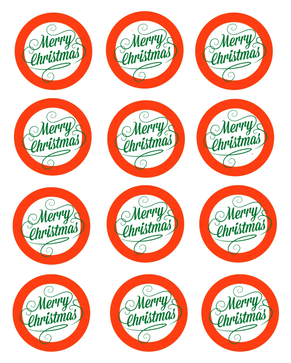 Free Printable Merry Christmas Mason Jar Gift Labels | Mama Likes ...