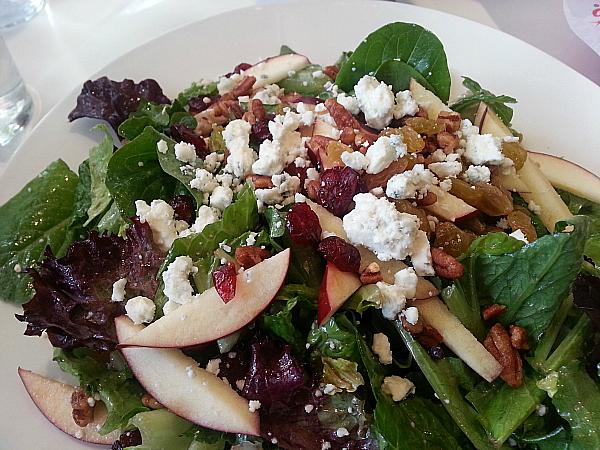 Salad at Ruby's Diner - Tustin, California