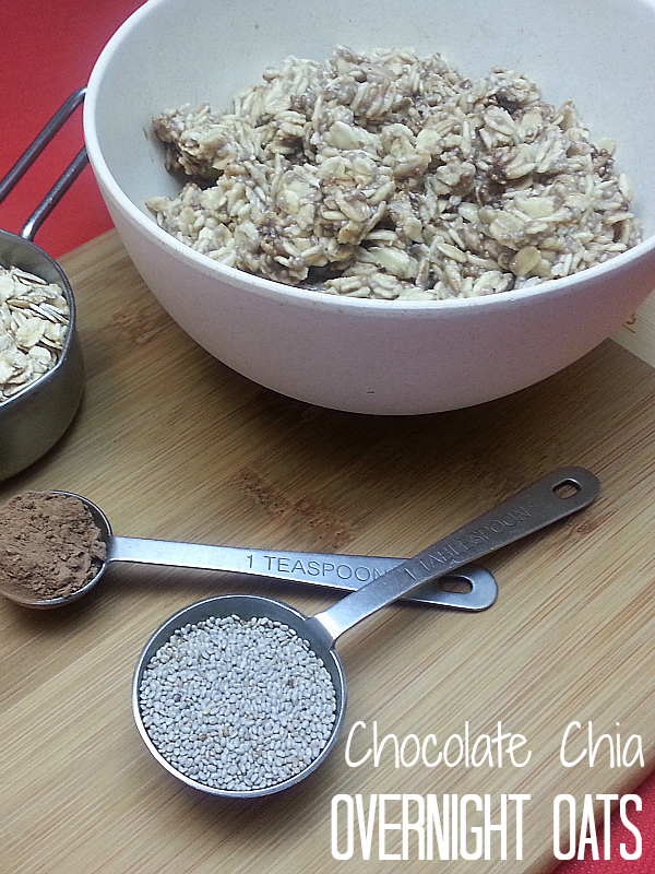 Chocolate Chia Overnight Oats