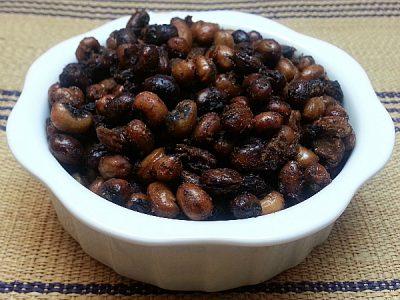 Garlic Roasted Black-eyed Peas