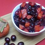 Persimmon Cranberry Sauce Recipe