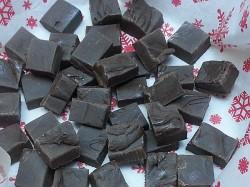 Dark Chocolate Hatch Chile Fudge