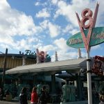Flos V8 Cafe at Disney California Adventure