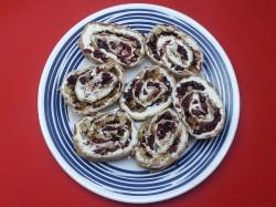 Cranberry Walnut Pinwheels
