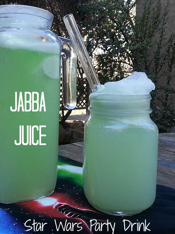 Jabba Juice - Star Wars Party Drink Recipe - Great for Family Movie Night or a Star Wars Birthday Party