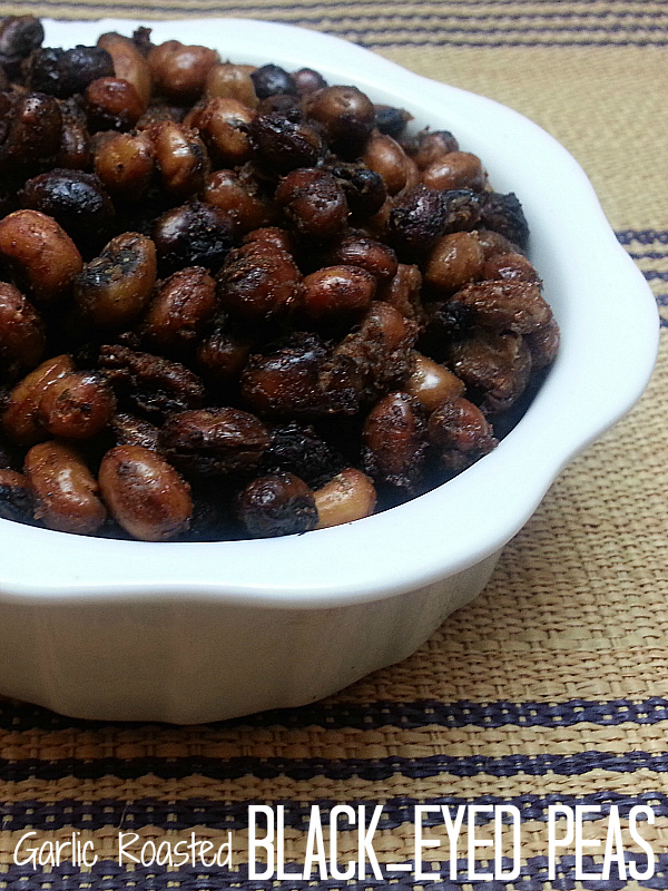 Garlic Roasted Black-eyed Peas