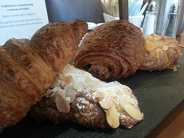 Bread and Pastries at Citrus California Dining - Fairmont Hotel Newport Beach