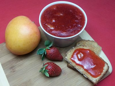 Easy Strawberry Mango Jam