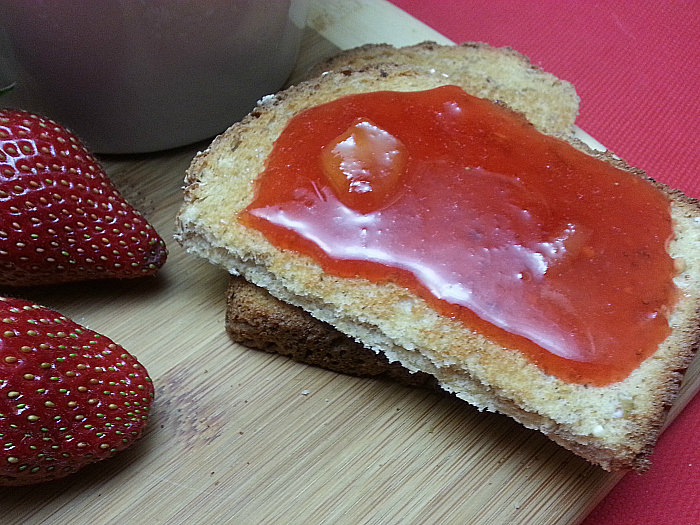 Easy Strawberry Mango Jam