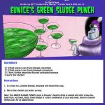 Halloween Spooky Gross Green Punch Recipe
