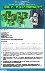 Hotel Transylvania Halloween Party Food - Frankenstein's Marshmallow Pops