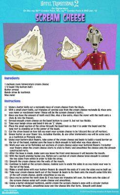 Hotel Transylvania Halloween Party Food – Scream Cheese