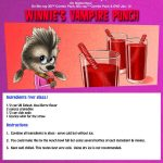 Halloween Vampire Punch Recipe