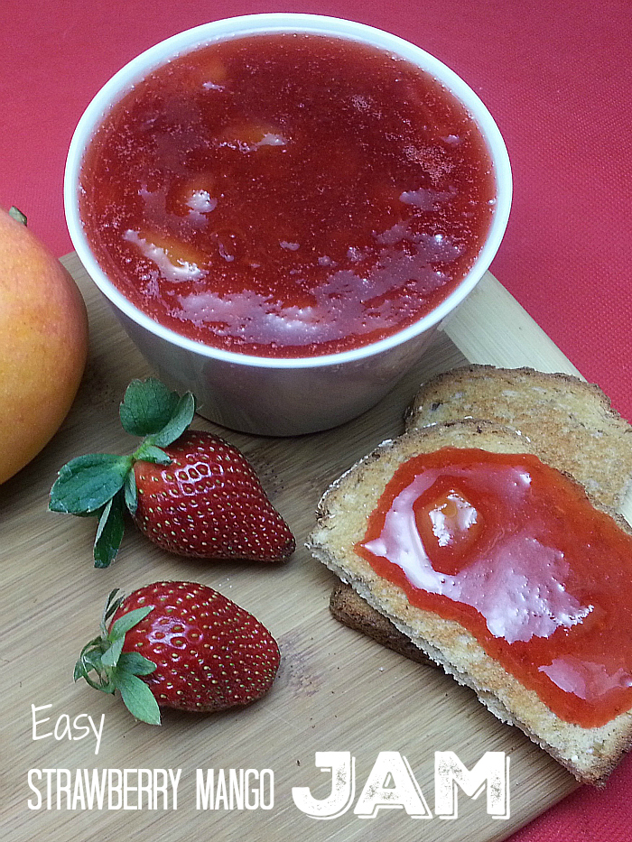 Easy Strawberry Mango Jam Recipe