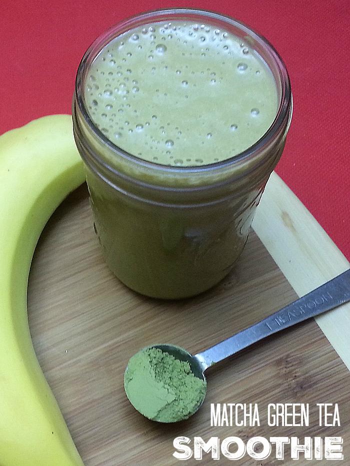 Matcha Green Tea Chia Smoothie